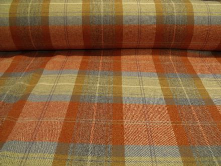 Shetland Tweed Plaid Fabric AZ73